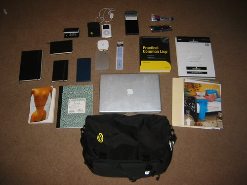 "Steven's Pic for ""Whatsinyourbag"""