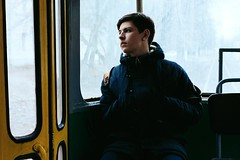 Break well (anastasia_smirnova) Tags: ifttt 500px one person young adult outdoors day horizontal sitting man nikon nikond3200 nikkor nikkor50mm blue face eyes transport transportation jacket sad dissapointed human men urban life thoughts мысли lifestyle 少年 tram strasenbahn