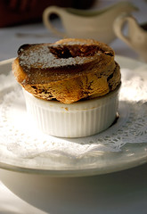 Chocolate Souffle (disneymike) Tags: chocolatesouffle souffle chocolate levallauris french dessert 1735mmf28d food nikon nikkor d100 palmsprings california