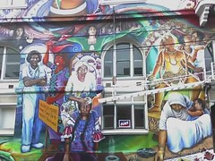 The Women's Building mural