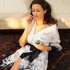 42-15299613 (Kurt81) Tags: 1 20sadult adults beauty beverage brunette carpet clothing coffee comfortable cordlesstelephone culturalandethnicdress cup dwelling females food foodanddrink furniture hair halflength hearing house indoors kimono leaning leisure listening livingroom longhair mug people photography recreation relaxation robe room seatingfurniture sitting sofa telephone telephoning traditionaldress whites women youngadultwoman youngadults