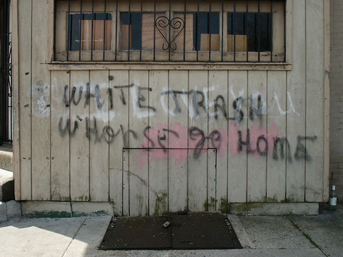 213. white trash whorse go home