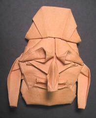 酔胡王 Suiko-oh (PhillipWest) Tags: origami mask paperfolding papiroflexia tomokofuse origamiforum themask 面 cansonmiteintes
