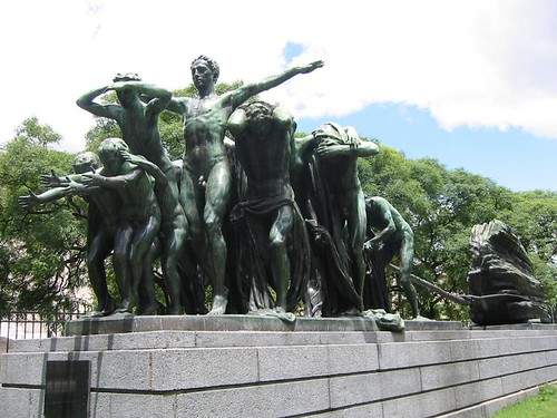 Canto al trabajo, Recoleta, Buenos Aires, Argentina