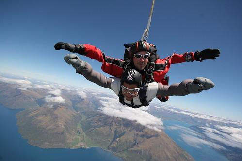 New Zealand Sky Diving