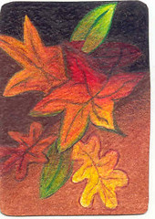 ACEO Fall Leaves
