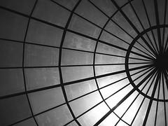 Cupola b/w (abstraktion) Tags: rafaelollero admiration inspiration me black noir negro cupola white blanco sun bw minimal glass iron cupula simple sombra shadow luz light lineas lines