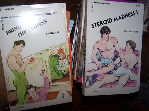 GAY Books. Look for these on Ebay under seller: