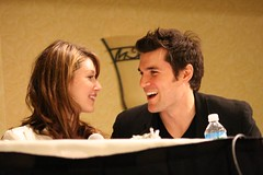 Jewel Staite & Sean Maher @ the Flanvention