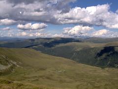 Lungau view overland (monika & manfred) Tags: mountains salzburg clouds landscape austria ranges mm lungau openspaces greenbluewhite utataview