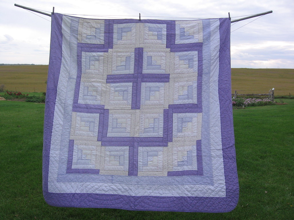 Log Cabin Quilt-in-a-Day