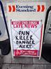 Death Hurt Kill Alarm Chaos (Peter Gasston) Tags: newspaper headline eveningstandard scaremongering