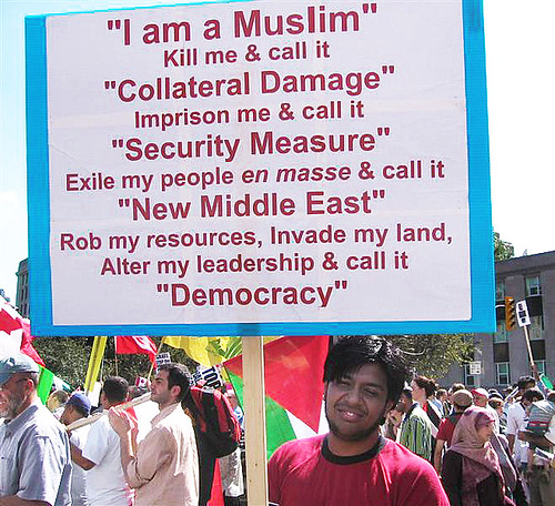 I am a Muslim not a Commodity by Edge of Space.