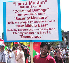 I am a Muslim not a Commodity (Edge of Space) Tags: usa news war muslim political politics nwo rally protest hijab voice terrorism antibush muslims activism humanrights apathy waronterror