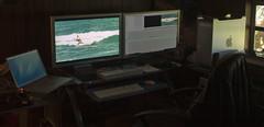 Editing Station (Trancepriest) Tags: apple macintosh mac tuaw powermacg5 finalcutpro finalcut
