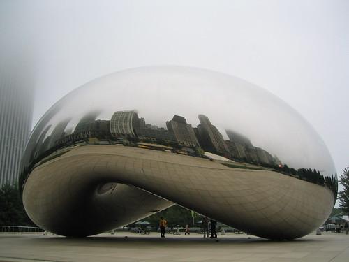 Cloud Gate, esa habichuela gigante metálica
