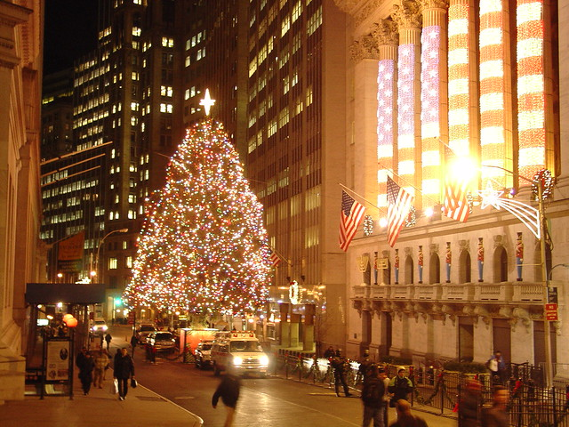 Christmas at Wall Street | ultifishy
