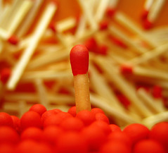 standing out (ion-bogdan dumitrescu) Tags: red yellow match matches bitzi ibdp findgetty ibdpro wwwibdpro ionbogdandumitrescuphotography
