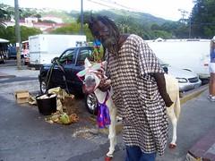 Donkey Man in St. Thomas