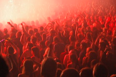 Audience in Red