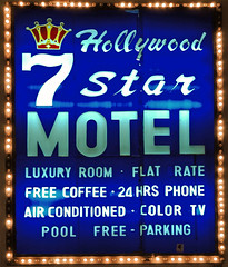 Better than a 5 Star Motel. 2 Better. (Dave Gorman) Tags: california sign la losangeles motel 7star