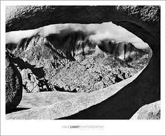 plate 636. (koaflashboy) Tags: mountains mediumformat landscape saveme4 deleteme10 fineart duotone alabamahills ilfordfp4 mamiyarb67