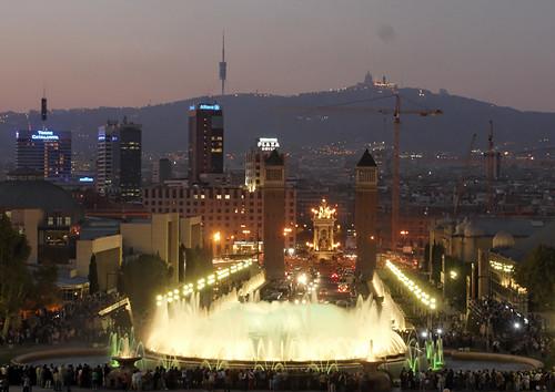 Font Màgica, Barcelona