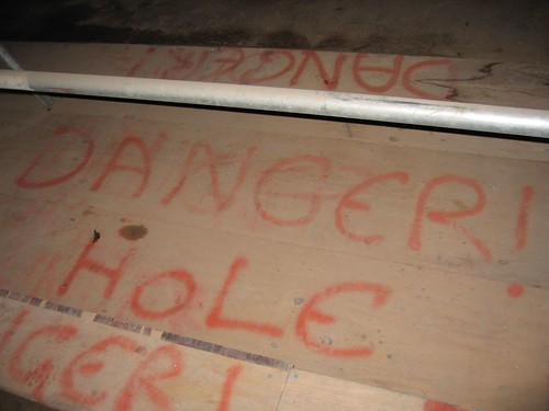 Danger! Hole