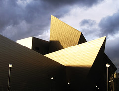 Architecture for the Arts (Ishrona) Tags: sunset building art museum architecture buildings artwork colorado day doors open cloudy denverartmuseum denver explore libeskind daniellibeskind ishrona doorsopendenver fredericchamiltonbuilding aia150