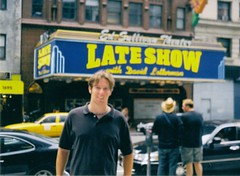 Letterman Wasn't Taping (jblueafterglow) Tags: usa newyork robert 2004 letterman august2004 newyorknewyorkusa