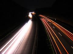 Autobahn 1 (nils-l) Tags: autobahn nachtaufnahmen