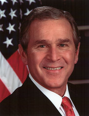 President Bush Official Portrait from U.S. State Department