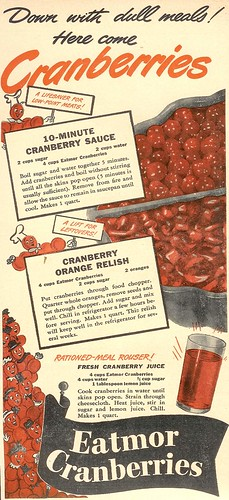 Eatmor Cranberries 1943