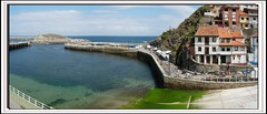 Puerto pixueto (jlmaral) Tags: espaa geotagged spain asturias vistas cudillero asturies comarcavaqueira puertopixueto geo:tool=gmif geo:lat=43563554 geo:lon=6146250