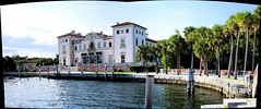 Vizcaya from the east (Craig James White) Tags: autostitch panorama unitedstates florida miami calico stitched vizcaya