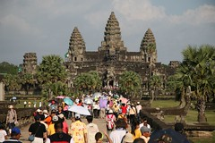Angkor Wat is popular