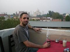 Taj Mahal and myself