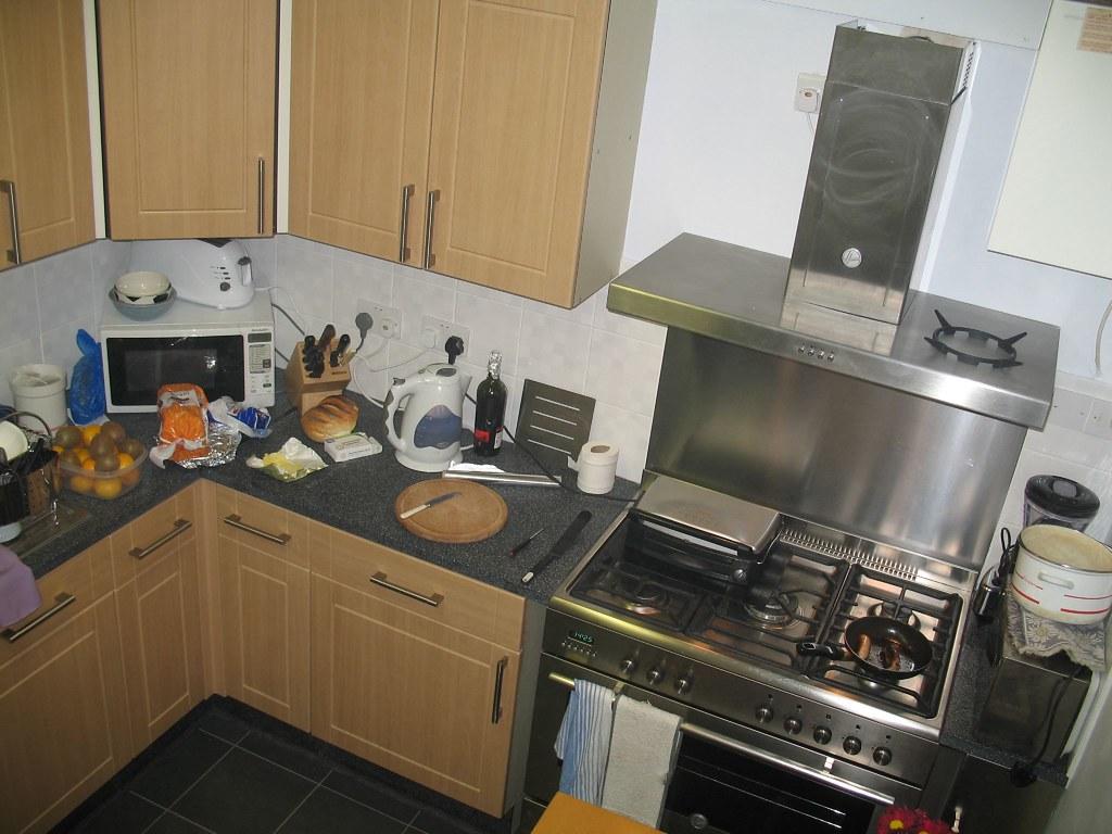 Kitchen refurbished.
