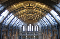 Because Jojo liked to see this... (HannyB) Tags: windows london museum architecture wow arches symmetry ceiling naturalhistorymuseum entrancehall