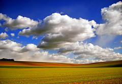 Brightening (Nicholas_T) Tags: autumn sky nature field clouds rural landscape pennsylvania hills creativecommons lehighvalley stratocumulus lehighcounty weisenbergtownship