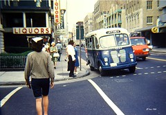 Atlantic City Jitney 1967 (Videoal) Tags: street people bus nj transportation atlanticcity jitney