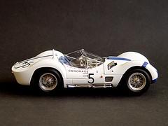Maserati Birdcage (Photomechanica) Tags: birdcage maserati 118 cmc diecast camoradi