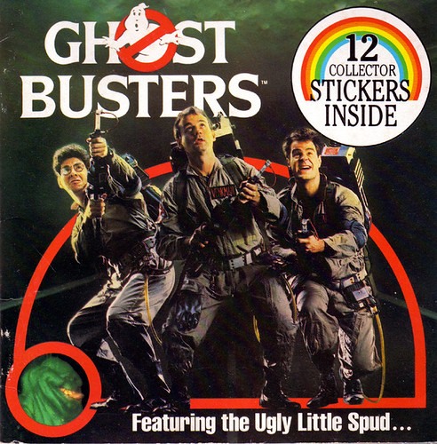 imremembering:Ghostbusters Sticker Book via Branded in The 80's I...