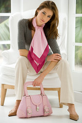 Pretty in pink - Belisi Fashions Paris Pink (peterbelisi) Tags: scarf model photoshoot handbag womensshoes belisi