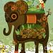 子犬:my elephant garden
