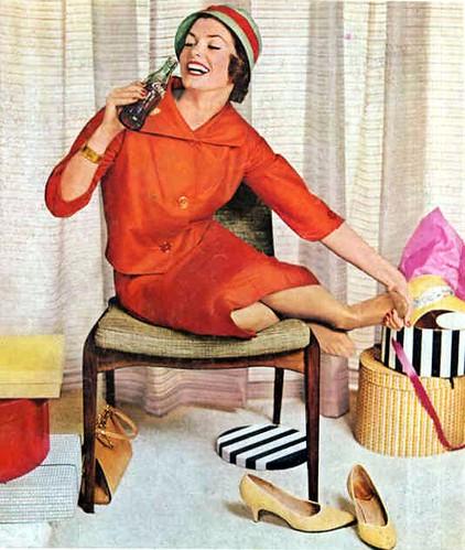 Coca-Cola ad, 1950s?