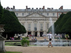 Hampton Court Palace Rear - William and Mary Addition London England - by Bobcatnorth