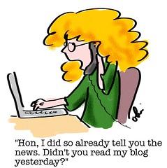 Blog habits