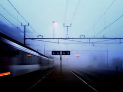 4-A-A-3 (idogu) Tags: morning favorite motion blur station fog train switzerland early sbb explore 510favs zrich 2550favs mywaytowork horgen xxxxx oberdorf 1show websetfavorite selectshow