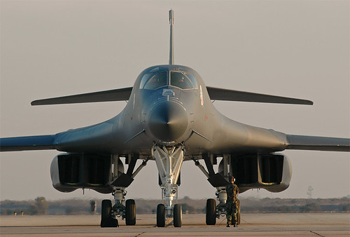 Airplane picture - B-1 Lancer--The Bone Prep Miramar 2004